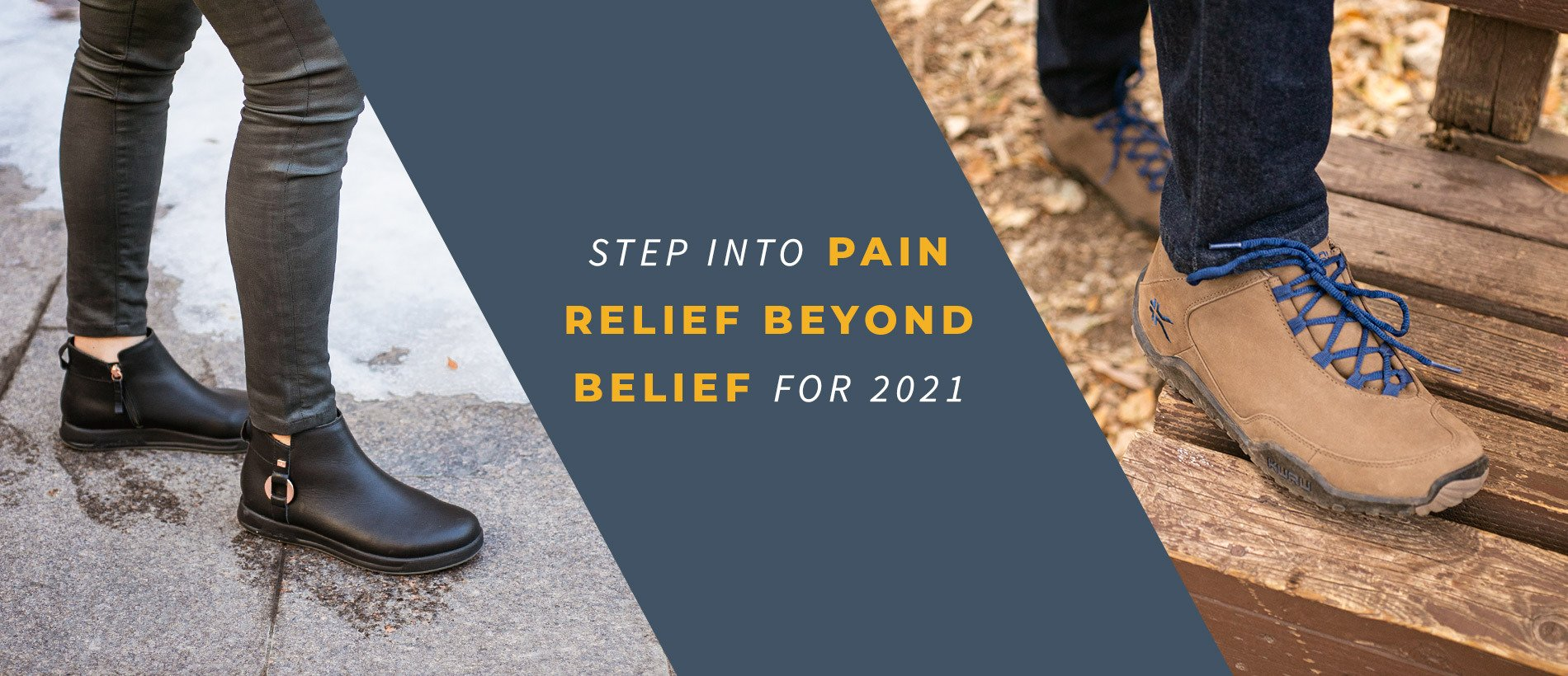 Step into Pain Relief Beyond Belief for 2021