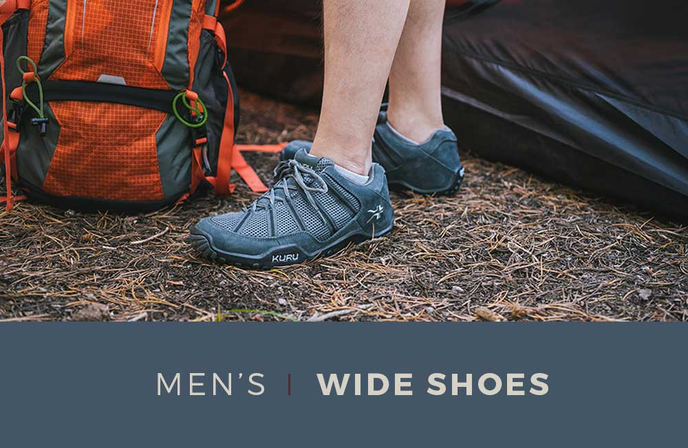 Category Banner - Men's Wide Shoes