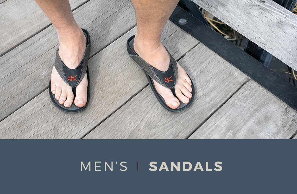 Category Banner - Men's Sandals