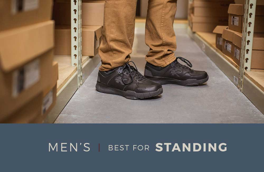 Category Banner - Men's Shoes For Standing