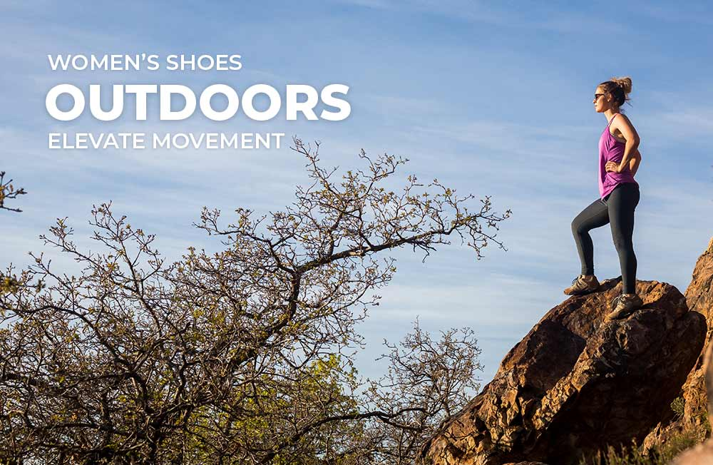 Category banner - Women's Outdoor Shoes