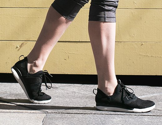 Walking shoes supportive enough to fight foot pain